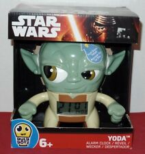 "2015 NEW IN BOX Yoda Star Wars Jedi Digital Alarm Clock - 3-1/2"" Tall LED - 6+"