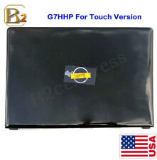 New for Dell Inspiron 15 5000 5555 5558 Black Touch Back Cover Rear Lid 0G7HHP