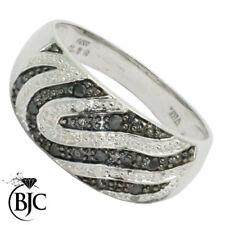 Anillos de joyería con diamantes en oro blanco de compromiso I1