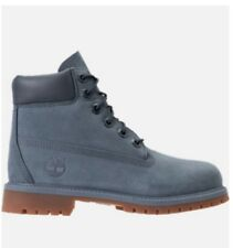 Kid's Blue Timberland Boots Sizes 4.5, 6.5, 7 Juniors'=Women's Sizes 6, 8 & 8.5