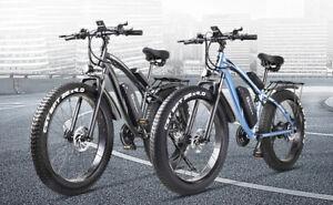 "1000W Motor E Bicycle MX02S 26"" Fat Tire Tyre Electric Bike 40km WARRANTY"