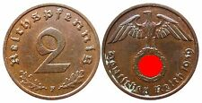 J362    2 Reichspfennig Dritte Reich  1939 F  502743