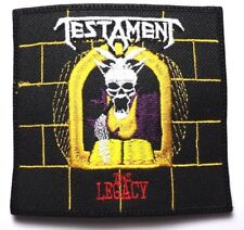 TESTAMENT (  THE LEGACY )    EMBROIDERED PATCH