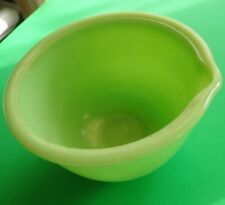 VINTAGE Green Jadeite Small Mixing Bowl!