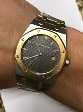 Mens Audemars Piguet Royal Oak 18k Gold / Steel Rare Model Clasp! 56175, Cheap!