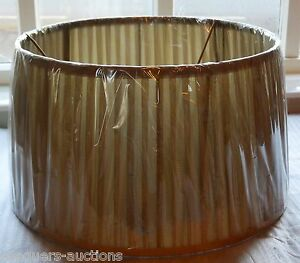 Clearance Bargain quality Light Olive Pleated Lampshade