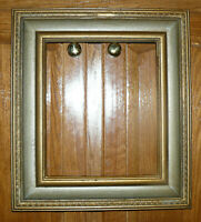 "Vintage MID-CENTURY Retro Gilt Solid Wood FRAME, Embossing:10""x12"" In;18""x16""Out"