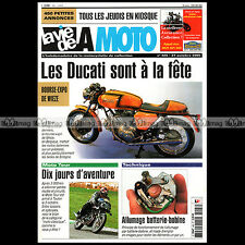 LA VIE DE LA MOTO LVM N°405 ★ HARLEY-DAVIDSON SERVICAR 1957 ★ DUCATI 750 SPORT