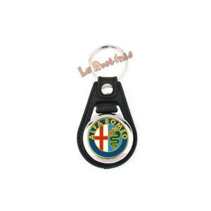 1 Portachiavi adatto Alfa Romeo 33 75 146 147 156 166 159 164 + gettone carrello