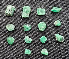 Lot d'émeraude brut Autriche 4,75ct emerald gemstones rare beryl mineral austria