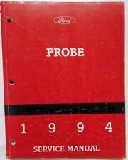 service \u0026 repair manuals for ford probe ebay