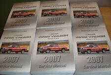 2007 Dodge Ram Truck Shop Service Manual Vol 1 2 3 4 5 6 Set 07