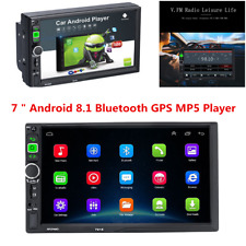 Android 8.1 GPS Radio Stereo 2Din Car Multimedia 7'' HD Touch Screen MP5 Player