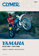 CLYMER REPAIR MANUAL Fits: Yamaha IT200,IT490,IT175,IT250,IT465,IT125,IT425,IT40
