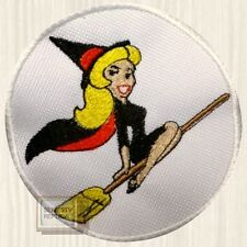 Bewitched Moon Logo Patch TV Series Samantha Stephens Elizabeth Embroidered