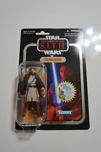 Star Wars The Vintage Collection Obi-Wan Kenobi VC16 Silver Foil Card SEALED