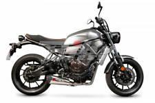 Escape Scorpion Serket cónico Inox Yamaha XSR 700 sistema completo