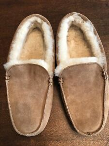 Overland Sheepskin Moccasin, Men's Size 11