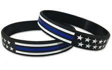 5 PACK BLUE LIVES MATTER silicone Wristband - Support The Boys In Blue!