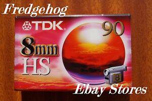 A TOP QUALITY TDK P5-90HS (High Standard) 8mm / Hi8 CAMCORDER TAPE / CASSETTE