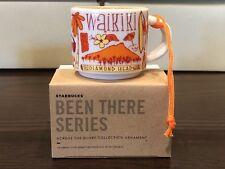 """Starbucks """"Been There Series"""" 2018 WAIKIKI Hawaii Ornament Demi 2 oz. - New"""
