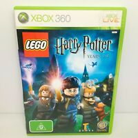 Lego Harry Potter Years 1-4 - Xbox 360 - Tested & Working! Free Postage!