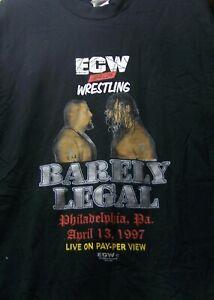 BAT28 Original ECW Barley Legal 1997 Tee Shirt  from the Bill Apter Collection