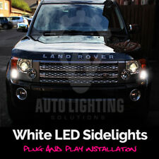 Land Rover Discovery MK3 04-09 White LED Side Light Bulbs Sidelights Error Free