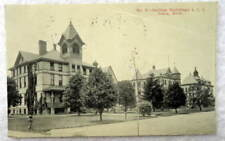 1912 POSTCARD ASYLUM BUILDINGS IONIA MICHIGAN MI #E32