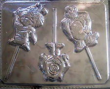 Monsters Inc Chocolate Lollipop Candy Mold 164 NEW