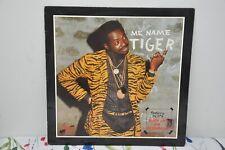 Tiger-Me name Tiger LP RAS-3021 Reggae 1986 First Press NM Cond. RAS Records