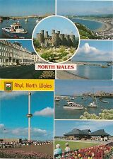 Lot of (8) UK/Wales.. Postcards.. Used