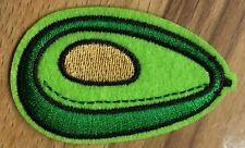 Avocado Aufnäher / Bügelbild Aufbügler avocado fruit iron on patch Vegan Veggie