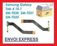 USB Dock Cargador Puerto De Carga Cable Flexible Para Samsung Galaxy Tab 4