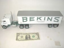 First 1st Gear 1953 Bull Nose Bekins Moving Tractor Trailer  1:34 2000  18-2026