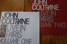 John Coltrane – Live In Paris Volume 1 (SHRINK) and 2 (SEALED) AFFINITY/SPAIN