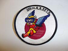 b0142 WW2 US Army WASP Women Air Force Service Pilot patch 318th AAFFTD R22B