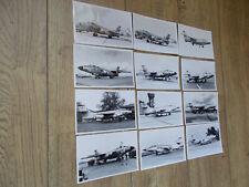 Photo Aviation -SO 4050 Vautour-Lot de 12 photos-9/14-Collection..