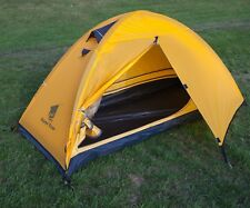 Duke of Edinburgh Award Lightweight 1 Person Backpacking Tent  - YELLOW 1.85kg