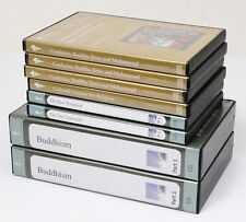 Great Courses RELIGION & PHILOSOPHY Lot DVDs and CDs