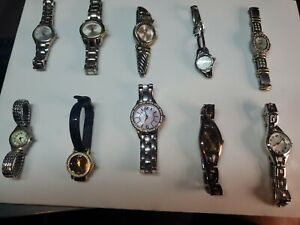 Ladies used Watch lot of 10