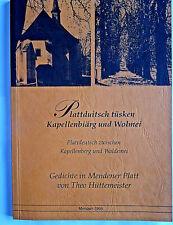 Plattdeutsch In Antiquarische Bücher Günstig Kaufen Ebay