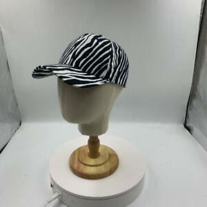 Rare Disease Awareness Zebra Pattern Caps with a Free Survivor Ribbon Broach