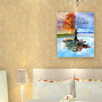 DIY Oil Painting Kit Paint By Numbers for Adult And Children Beginners Frameless