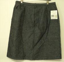 NEW size 16 Liz Claiborne LizWear SKIRT soft black