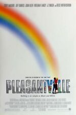 PLEASANTVILLE MOVIE POSTER 2 Sided ORIGINAL ROLLED 27x40 TOBEY MAGUIRE