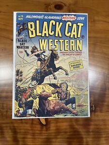 Black Cat Comics Western - No. 19 May 1949 - Golden Age - HTF Book - (C)