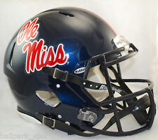 MISSISSIPPI OLE MISS REBELS - Riddell Full-Size Speed Authentic Helmet