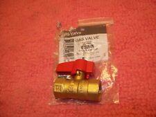 Dormont 1/2 In. FIP x 1/2 In. FIP Forged Brass Straight Gas Shutoff Valve, NOS