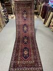 3X10 FT Handmade Runner Samarkand Geometric Design  high quality Uzbek wool rug